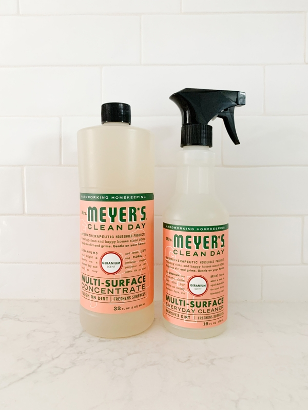 See what I got in my Grove Collaborative March 2020 Order including Mrs. Meyers All Purpose Surface Cleaning Spray!