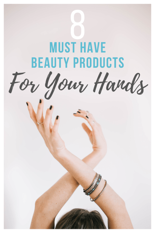 Try these 8 Must-Have Beauty Products to keep your hands baby soft! Increased handwashing dries out your hands. Make sure you have these must-have beauty products to prevent cracking and pain.
