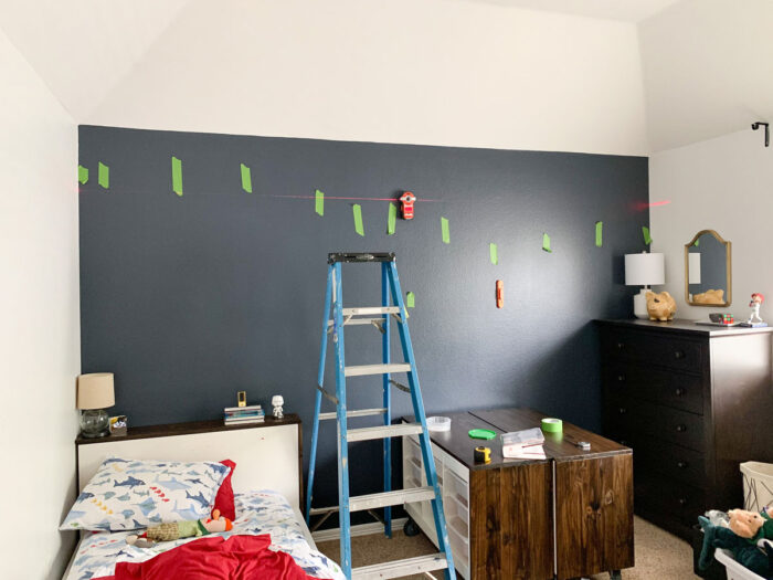 One Room Challenge Fall 2020 Tween Boy Bedroom Week Four Lego Display More